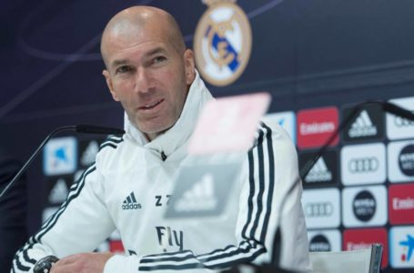 Zidane przed derbami Madrytu
